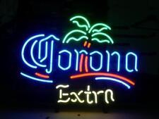 "Corona Extra Light Neon Sign Display Store Beer Bar Pub Real Neon20""X16""E196"