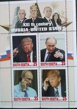 Personalities presidents Tramp Putin  USA russia south ossetia 2017