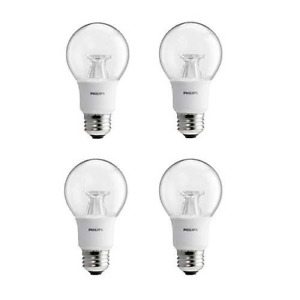 Philips LED Dimmable A19 Soft White Light Bulb with Warm Glow Effect: 800-Lumen,