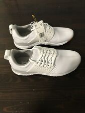 Adicross Bounce Spikeless Golf Shoes White Size 10.5