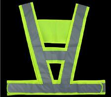 Green V Visiblity Security Traffic/Working Reflective Surveyor Construction Vest