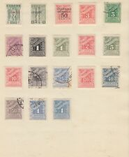 GREECE Collection Tax Stamps Early Lot Inc OVPTS MINT/USED removed for sending
