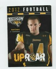 2012 TOWSON UNIVERSITY FOOTBALL POCKET SCHEDULE (SKED)