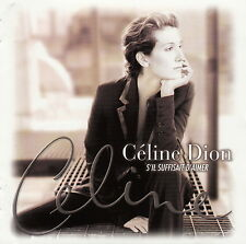 Céline Dion CD S'il Suffisait D'Aimer - Europe (EX/M)