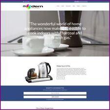 KITCHEN APPLIANCE Website Business For Sale Earn $2,366.40 A SALE FREE Domain