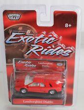 MotorMax Exotic Rides, Lamborghini Diablo - 1:64 scale - Red