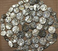 10 Mechanical Wrist Watch Movements size 7-25 mm  Steampunk Parts Repairs