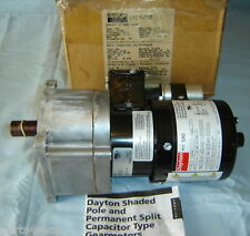 Dayton Gearmotor 1LPX3 Electric Motor 15 RPM 1PH NEW