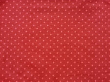 Red Pink Polka Dots Cotton Spandex Fabric 2 Way Stretch Jersey Knit by Yard