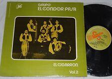 EL CONDOR PASA El Cigarron VOL.2 RARE MX Import Latin LP