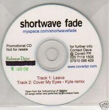 (G495) Shortwave Fade, Leave - DJ CD