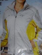 Damen Fahrradjacke grau-gelb Gr.M   neu + OVP