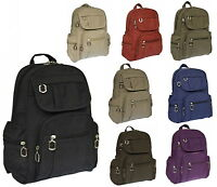 Rucksack Damenrucksack Tasche Bag Stoffrucksack Neu Farbwahl