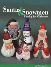 Santas and Snowmen: Carving for Christmas-ExLibrary