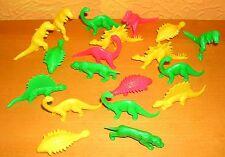 Sammlung Dinos Dinosaurier neonfarben