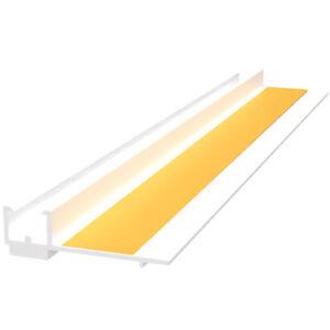 30 Stab Anputzleiste 9mm je 1,4m 42m Laibungsprofil PVC APU Profil Putz Fenster