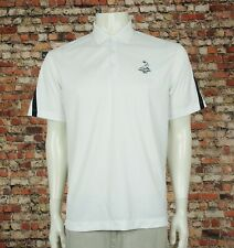 Nike Golf Dri-Fit Pinehurst 1895 White Block Polo Shirt Mens Medium