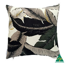 Genuine Tommy Bahama Black Banana Leaves Outdoor 45cm cushion cover