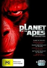 The Planet of the Apes - 5 Movie Collection DVD NEW R4 1-5 1 2 3 4 5
