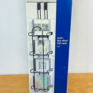 Organized Living Over the Door CD Rack Hanging or Wall Mount NOS New in Box SH