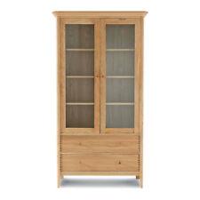 Willis & Gambier Spirit Range, Wide Display Cabinet in Oak BNIB