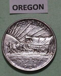 1926-S 50C OREGON TRAIL Half Dollar 90% SILVER COIN MS GEM BU LOW MINTAGE 83,000