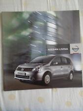 Nissan Livina brochure Apr 2008 South African market