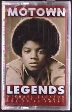 Michael Jackson-Motown Legends LP CASSETTE SEALED OOP