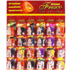 24 x  Car Air Freshener Luxury Fragrance Vehicle Perfume Sample on the Packaging