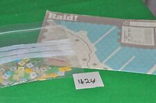 raid! Counters & map only board game (see photo) (14241)