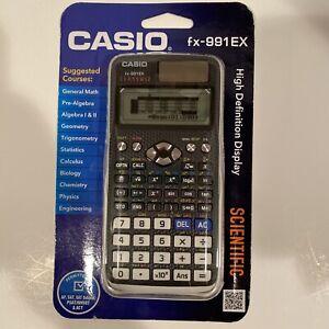 Casio FX-991EX Engineering/ Scientific Calculator, Black New! White Cover SAT