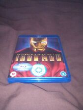 Iron Man (Blu-ray, 2013) ultimate 2 disc edition