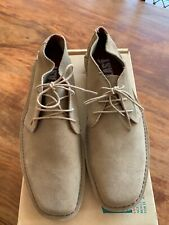 'Last' ankle high Desert Boots shoes chisel toe wedge sole UK 9 / 10 Mod weller