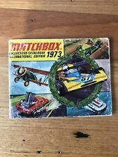 Matchbox Lesney 1973 collectors catalogue   vintage book brochure collector