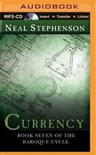 Currency : Book Seven of the Baroque Cycle by Neal Stephenson (2015, MP3 CD,...