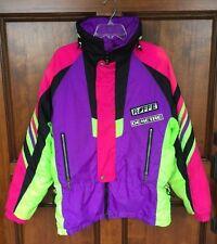 Vintage 80s 90s Roffe Demetre Skiwear Buddys Run Neon Thinsulate Jacket Men's M