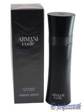 Armani Code by Giorgio Armani for Men Edt 4.2 OZ 125 ML Spray New In Box