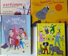 Bücherpaket Kinder ab 4  Jahre - 4 gebundene Bilderbücher -NEU
