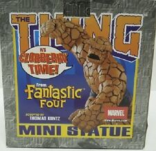 THE THING MINI STATUE  ~ Randy Bowen Designs ~  Marvel Fantastic Four 2003 NIB