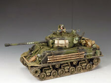 "KING & COUNTRY DD279 WWII M4A3E8  ""FURY""  'EASY EIGHT' SHERMAN TANK  1944  MIB!"