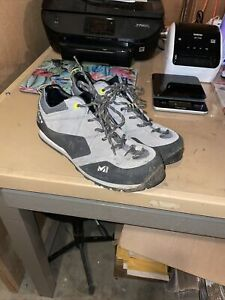 Millet Friction Technical Approach Climbing Shoes Low Cut Black 11 Men 12.5 Lady