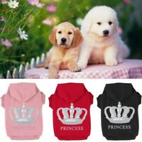 Small Large Pet Dog Cat Warm Sweater Clothes Puppy Hoodie Coat Costume Apparel