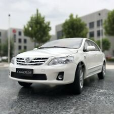 Car Model Toyota Old Corolla 1:18 (White) + SMALL GIFT!!!