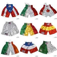 Pro Lightweight Boxing Trunks Shorts Martial Arts Fitness Gym Training Shorts