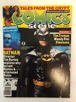 Comics Scene #8 (1989) 8.0 VF Batman Wolverine Tim Burton