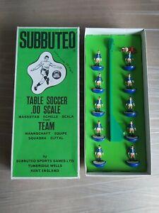 VINTAGE / CLASSIC SUBBUTEO TABLE SOCCER HW101 Birmingham Carlisle TEAM - BOXED