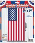 Flag Door Cover USA Door Decoration Patriotic Summer Party Supply