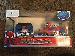 Marvel Super Hero Adventures Spider-Man Buggy 2.4 GHz Radio Remote Control Car