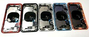 New iPhone XR Rear Housing Cover Chassis With Parts & Flexes + NFC Fitted