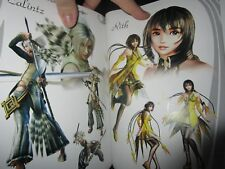 Magna Carta Tears of Blood Official Setting Art book VERY RARE NOT FOR SALE